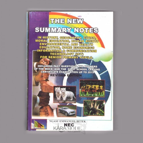 The new summary notes - Class 5 & 6