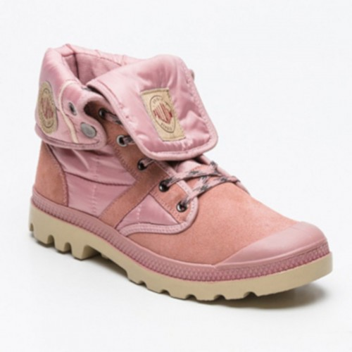 Sneakers montantes Baggy rose tige  12 cm
